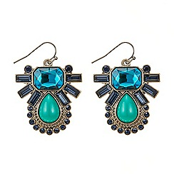 Butterfly by Matthew Williamson - Art deco starburst chandelier earring