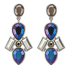 Butterfly by Matthew Williamson - Designer Multi stone statement drop earring