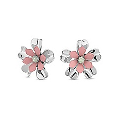 Butterfly by Matthew Williamson - Pink pastel floral earring