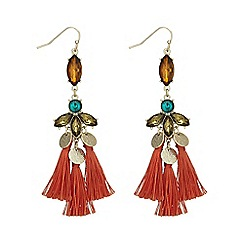 Butterfly by Matthew Williamson - Fringed statement earring