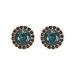Butterfly by Matthew Williamson - Pave circle earring