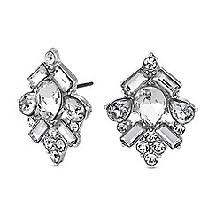 Butterfly by Matthew Williamson - Designer crystal cluster earrings