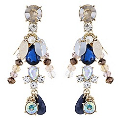 Butterfly by Matthew Williamson - Designer charm drop earrings