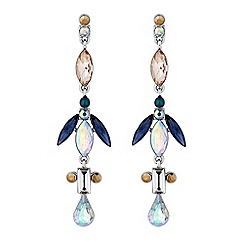 Butterfly by Matthew Williamson - Designer crystal droplet earrings