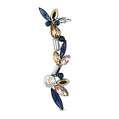 Butterfly by Matthew Williamson - Butterfly by Matthew Williamson - Designer crystal cluster ear cuff