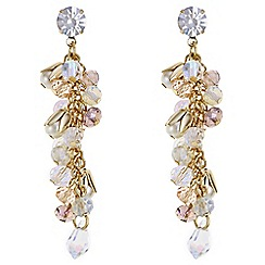 Butterfly by Matthew Williamson - Designer bead shaker drop earrings