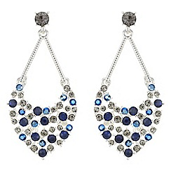 Butterfly by Matthew Williamson - Designer crystal chandelier earrings