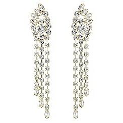 Butterfly by Matthew Williamson - Designer crystal statement chandelier earrings