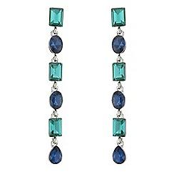 Butterfly by Matthew Williamson - Designer multi jewel drop earrings
