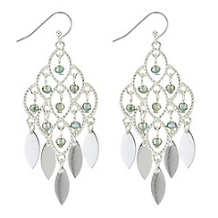 Butterfly by Matthew Williamson - Filigree beaded drop earrings