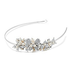 Butterfly by Matthew Williamson - Designer pearl and crystal butterfly headband