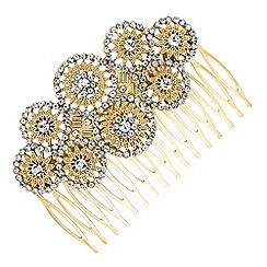 Butterfly by Matthew Williamson - Designer crystal circle hair comb