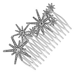 Butterfly by Matthew Williamson - Designer silver star hair comb