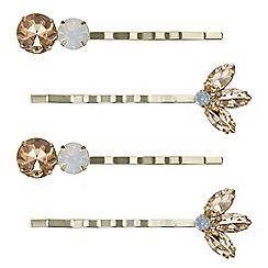 Butterfly by Matthew Williamson - Designer crystal hair slide set