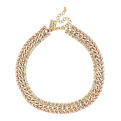 Butterfly by Matthew Williamson - Designer thread wrap curb chain necklace