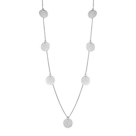 Butterfly by Matthew Williamson - Designer textured coin drop necklace