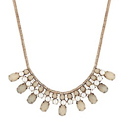 Butterfly by Matthew Williamson - Designer pearl stone drop necklace