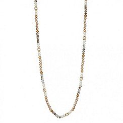 Butterfly by Matthew Williamson - Designer long beaded rope necklace