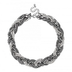 Butterfly by Matthew Williamson - Designer multi chain plait necklace
