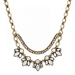 Butterfly by Matthew Williamson - Designer pearl and stone set necklace