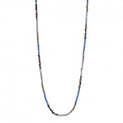 Butterfly by Matthew Williamson - Designer mini bead and metal long rope necklace