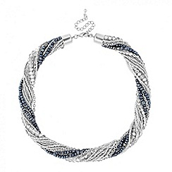 Butterfly by Matthew Williamson - Designer multi bead twisted chain necklace