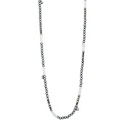 Butterfly by Matthew Williamson - Designer bead and coin drop long necklace