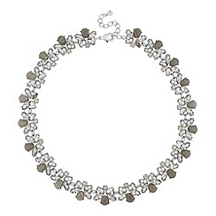 Butterfly by Matthew Williamson - Designer navette cluster link necklace