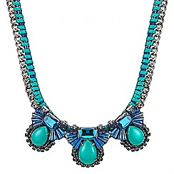 Butterfly by Matthew Williamson - Art deco starburst statement necklace