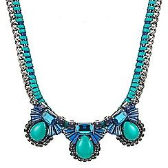 Butterfly by Matthew Williamson - Art deco starburst statement necklace