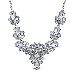 Butterfly by Matthew Williamson - Designer crystal cluster statement necklace