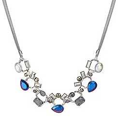 Butterfly by Matthew Williamson - Designer Multi stone statement necklace