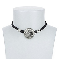 Butterfly by Matthew Williamson - Designer filigree disc choker necklace