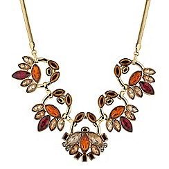 Butterfly by Matthew Williamson - Designer tonal crystal necklace