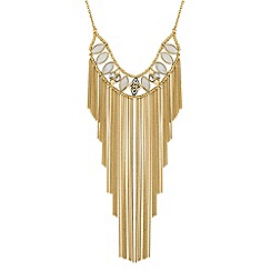 Butterfly by Matthew Williamson - Designer chain drop statement necklace