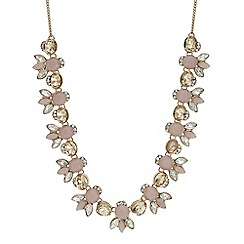 Butterfly by Matthew Williamson - Designer pink tonal crystal necklace