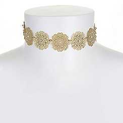 Butterfly by Matthew Williamson - Designer filigree choker necklace