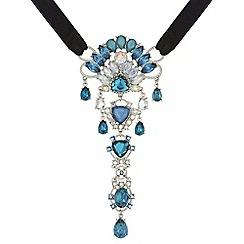 Butterfly by Matthew Williamson - Designer crystal fan necklace