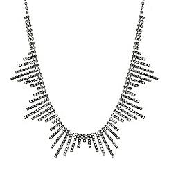 Butterfly by Matthew Williamson - Designer diamante sunburst necklace