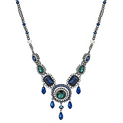 Butterfly by Matthew Williamson - Designer facet stone jewel drop necklace