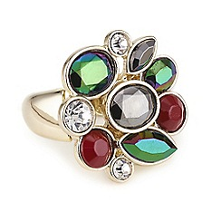 Butterfly by Matthew Williamson - Designer Round stone cluster ring