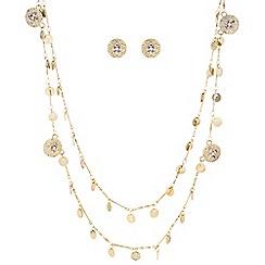 Butterfly by Matthew Williamson - Designer filigree pretty chain jewellery set