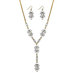 Butterfly by Matthew Williamson - Designer crystal flower jewellery set