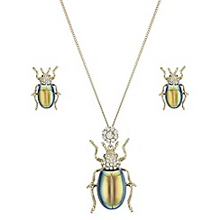 Butterfly by Matthew Williamson - Iridescent bug jewellery set
