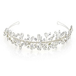 Butterfly by Matthew Williamson - Designer silver crystal spray tiara