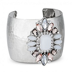 Butterfly by Matthew Williamson - Designer opalesque mixed stone cuff