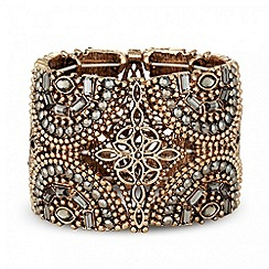 Butterfly by Matthew Williamson - Designer statement grey stone set cuff