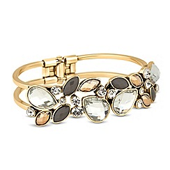 Butterfly by Matthew Williamson - Designer statement cluster hinged bangle