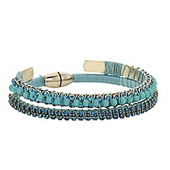 Butterfly by Matthew Williamson - Designer beaded crystal bracelet and bangle set