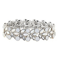 Butterfly by Matthew Williamson - Designer crystal circle stretch bracelet